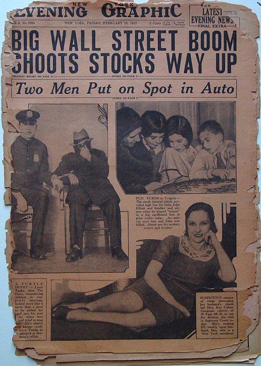New York Evening Graphic newspaper
